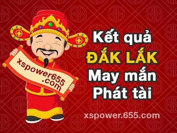 XSDLK 20/4 - XSDAKLAK 20/4 - Kết quả xổ số Đắk Lắk ngày 20/4/2021