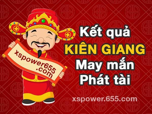 XSKG 18/4 - SXKG 18/4 - Kết quả xổ số Kiên Giang ngày 18/4/2021