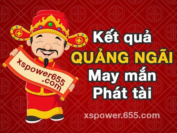 XSQNG 13/6 - SXQNG 13/6 - Kết quả xổ số Quảng Ngãi ngày 13/6/2020